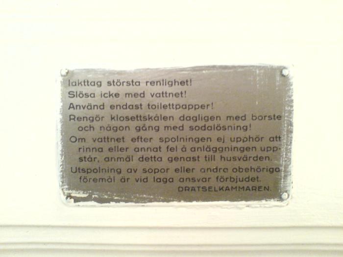 kristianstadsgatan skyltar text